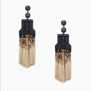 Stella & Dot - Jasper Fringe Earrings